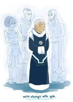 Oh man, this actually made my eyes tear up.  I hope there's more backstory on TLAB in the second season of Korra.