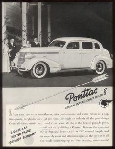 1937 Pontiac Ad