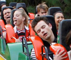 :DD glee, funny :D faces