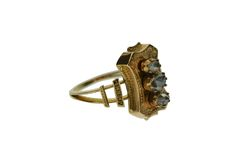 VICTORIAN 18 KT GOLD AND DIAMONDS