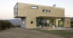 sustainable recycled house