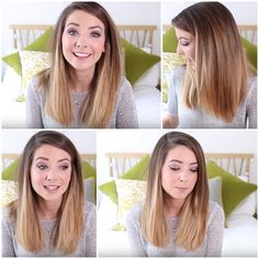 The perfect ombré hair - Zoella