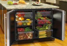 Idea :: Island Refrigerator