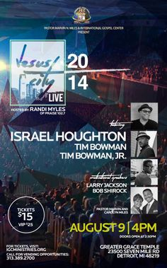 Israel Houghton, 'When You're Doing What You're Called To Do, You Enjoy It' [[Interview]]