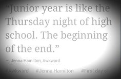 Tomorrow is the start of jr year.. Lets make it good! CLASS OF 2015!!!