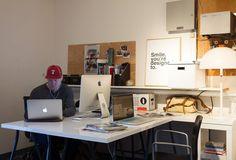 Matte Black's Hollywood Glam Workspace