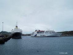 Duas epocas, dois navios.