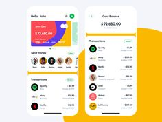 Fintech app by Kamil Glowinski for The Software House on Dribbble Ios App Design, Interface Design, Software House, Card Balance, Online Marketing Strategies, Admin Panel, Ui Design Inspiration, Ui Kit, Mobile Design