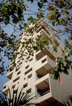 Charles Correa/ Kanchanjunga Apartments/ Mumbai