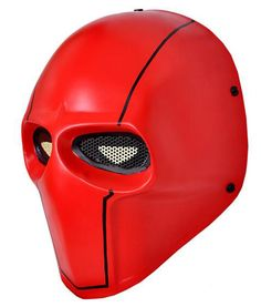 d631a98ea05 OutdoorBF Fiberglass Mask for Paintball Airsoft Red    To view further for  this item