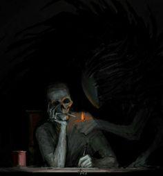 Art Sketches, Art Drawings, Arte Obscura, Arte Horror, Creepy Art, Dark Fantasy Art, Renaissance Art, Surreal Art, Skull Art