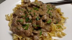 Venison Stroganoff - Cook'n with Mrs. G - Venison Stroganoff – Cook'n with Mrs. G Venison Stroganoff - Venison Stroganoff, Venison Stew, Stroganoff Recipe, Roast Beef, Canned Venison, Cooking Venison Steaks, Crockpot Venison Recipes, Venison Meals, Recipes With Venison Steak