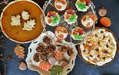Fall dessert table :)