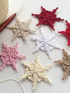 Die 1266 Besten Bilder Von Schneeflocken Und Sterne Häkeln In 2019