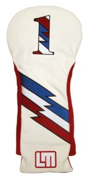 Loudmouth Retro Style Driver Headcover by Winning Edge.  Buy it @ ReadyGolf.com