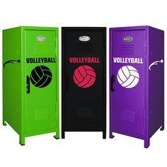 Volleyball Mini Locker
