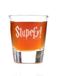 Stupefy Harry Potter Inspired Shot Glass