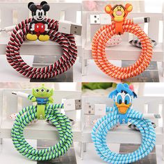 Disney Style Spiral Wire Protectors for Tablets and Phones