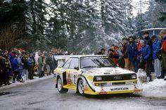 54th Rallye de Monte-Carlo Walter Roehrl - Christian Geistdorfer (Audi Quattro Sport S1)