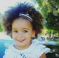 Kali Ann - 3 Years • Mom: Caucasian • Dad: African American ❤