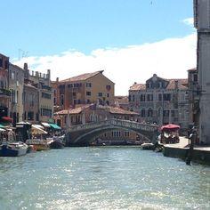 Venice - http://constantine.name/venice/ - Venezzia, riding put Murano.