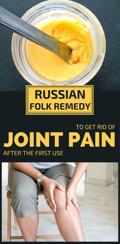 Many people suffer from joint pains. People usually feel pain in their elbows, knees, and shoulders. Pain occurs mainly in people over the age of 40 as a result of aging. Fortunately, there is a natural remedy that can ease this pain. It's about a Russian folk remedy that is very effective and relieves pain …