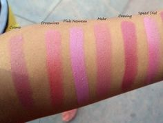 MAC Lipstick Swatches Part 1: 11 Pink Shades