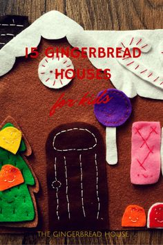 15 gingerbread houses for kids
