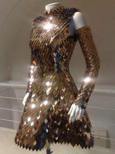 Armor-plated dress