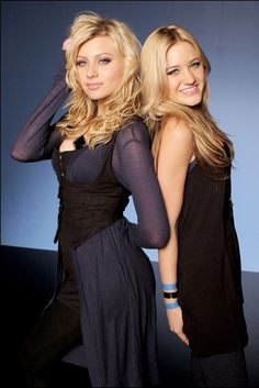 Aly & AJ  saw them upstate at state fair with jesse mccartney - also first concert i saw with mich