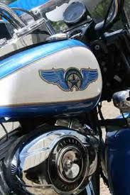 New Orleans Police Motorcycle Gas Tank