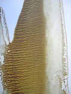 FRACTAL # 2 (detail) Oil dispersion / paper 88 x 52 cm art WORK for SALE