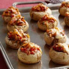 Tex Mex Stuffed Mushrooms Allrecipes.com