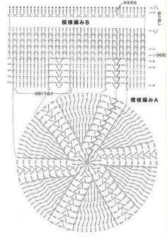 Picasa Web Albums - crochet woman's beanie pattern diagram