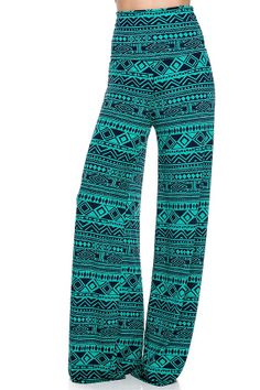 Gorgeous turquoiseTRIBAL yoga pants great design.. by Foreverpeace, $32.99