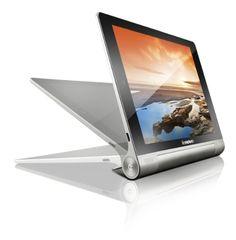 nice Lenovo Yoga 8-inch Tablet (Silver Grey Metal) - Tablet (Quad Core 1.2GHz, 1GB RAM, 16GB eMMC, WLAN, BT, 2x Camera, Android 4.2)