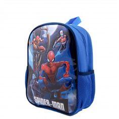 Ghiozdan mic Spider-Man Spiderman, Lunch Box, Backpacks, Bags, Character, Spider Man, Handbags, Bento Box, Backpack