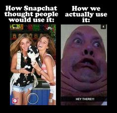 How Snapchat really is… this what i do with my sister @Paige Hall and my friend Amanda.. it is HORRIBLE