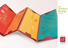 To accentuate your brand, transform your festive collateral into a creative tool. These pieces of traditional collateral, designed with modern art, is sure to … Brochure Design, Branding Design, Chinese New Year Design, Paper Structure, Red Packet, Collateral Design, Creative Infographic, Folder Design, Print Packaging