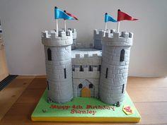 Knights Castle Birthday Cake