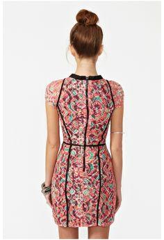 aa5f4f56 Circle Mesh Dress Stardust Sequin Dress Deco Lace dress Sense Of Doubt Dress