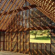 Centrifugal Villa, em Southhampton, Nova York, EUA. Projeto do escritório OBRA Architects. #architecture #arts #arquitetura #arte #decor #decoração #design #interiores #interior #projetocompartilhar #shareproject #confort #conforto #madeiraeconforto #wood