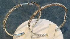 Gioielleria Bagnoli: ORECCHINI SEMPLICEMENTE FAVOLOSI. Hoop Earrings, Bracelets, Gold, Jewelry, Jewlery, Jewerly, Schmuck, Jewels, Jewelery