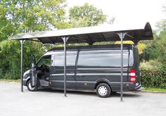 Carport Aluminium, Camping Car, Laminate Flooring, Van, Fixation, Design, Home Decor, Garage, Products