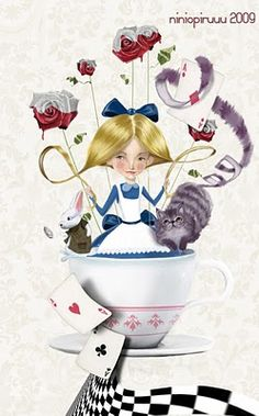 Alice in Wonderland Alicia Wonderland, Adventures In Wonderland, Lewis Carroll, Inspiration Artistique, Go Ask Alice, Were All Mad Here, Through The Looking Glass, Conte, Love Art