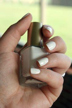 White polish for summer!