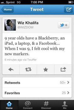 Wiz Khalifa @Wizdom