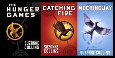 THe hunger games books - The Hunger Games trilogy is a series of young adult science adventure novels by Suzanne Collins. The trilogy consists of The Hunger Games Catching Fire and Mockingjay The Hunger Games, Hunger Games Buch, Hunger Games Trilogy, Suzanne Collins, I Love Books, Great Books, Books To Read, My Books, Amazing Books