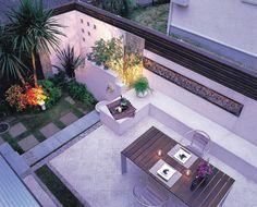 ガーデン施工事例 / ガーデン、アウトドアリビング、リゾート、タイルテラス、ウッドフェンス、ザシーズン吉祥寺、デザイナー若林孝行