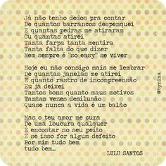 Tudo bem - Lulu Santos